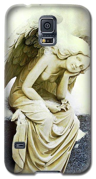 Winter Angel Galaxy S5 Case by Jean Haynes