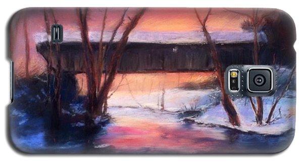 Winter At Bennett's Mill Galaxy S5 Case by Gail Kirtz