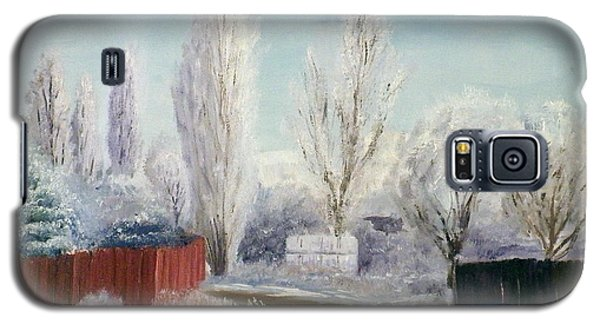 Winter At Bonanza Galaxy S5 Case by Sherril Porter