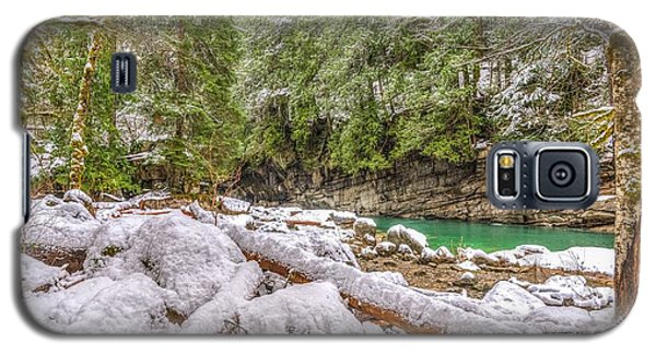 Galaxy S5 Case featuring the photograph Winter At Eagle Falls by Spencer McDonald
