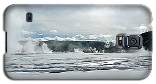 Winter At Grand Prismatic Galaxy S5 Case