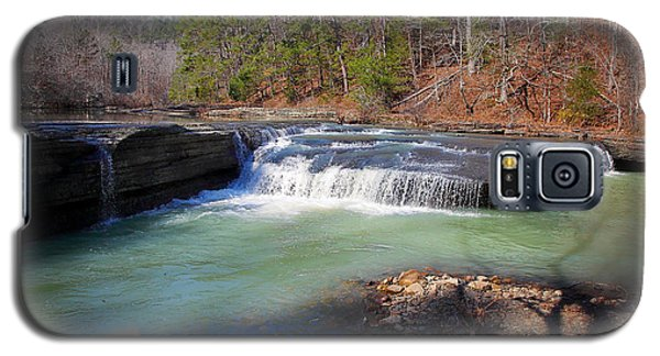 Winter At Haw Creek Falls Galaxy S5 Case