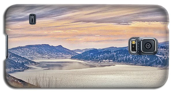 Winter At Horsetooth Reservior Galaxy S5 Case
