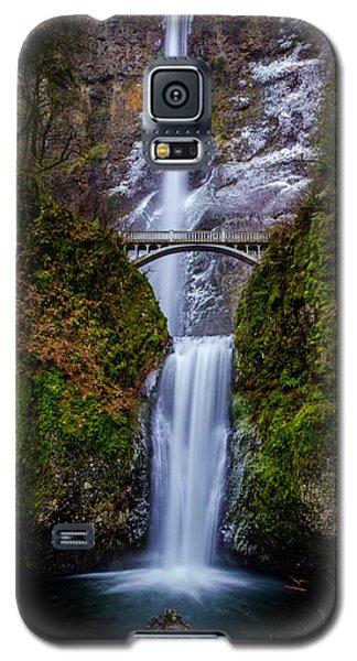 Winter At Multnomah Falls 2 Galaxy S5 Case