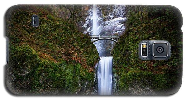 Winter At Multnomah Falls Galaxy S5 Case