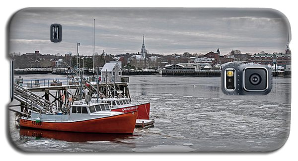 Winter At Newburyport Harbor Galaxy S5 Case