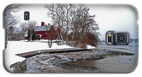 Winter At Perkins House  Galaxy S5 Case