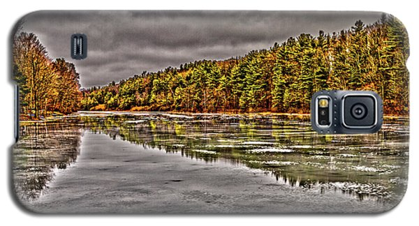 Winter At Pine Lake Galaxy S5 Case
