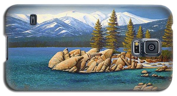 Winter At Sand Harbor Lake Tahoe Galaxy S5 Case