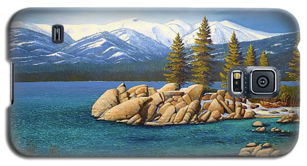 Winter At Sand Harbor Lake Tahoe Galaxy S5 Case