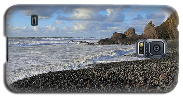 Winter At Sandymouth Galaxy S5 Case