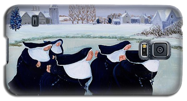 Ice Galaxy S5 Case - Winter At The Convent by Margaret Loxton