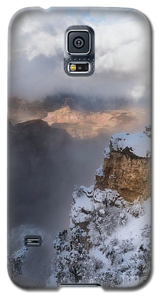 Galaxy S5 Case featuring the photograph Winter At The Grand  Canyon by Sandra Bronstein