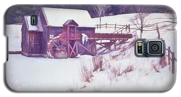 Winter At The Gristmill. Galaxy S5 Case