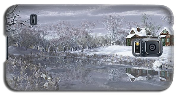 Winter At The Lake Galaxy S5 Case by Jayne Wilson