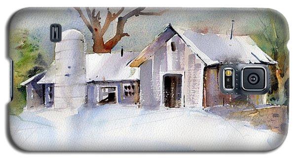 Winter Barn Galaxy S5 Case