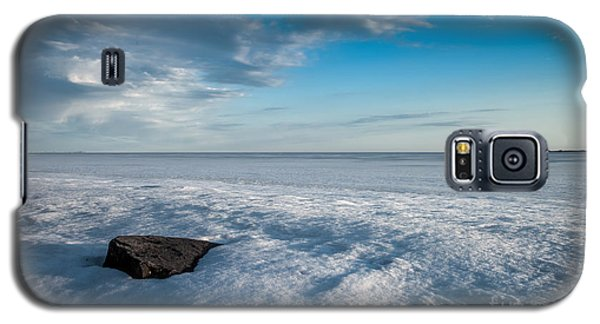 Winter Beach Galaxy S5 Case