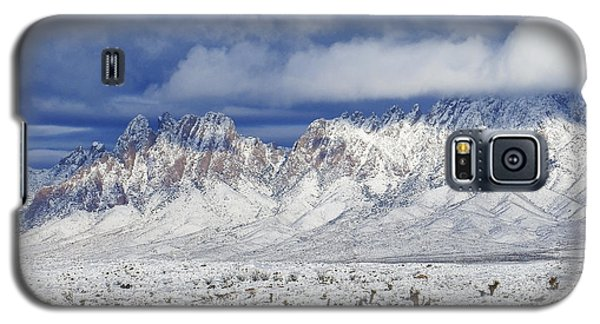 Galaxy S5 Case featuring the photograph Winter Beauties Organ Mountains by Kurt Van Wagner