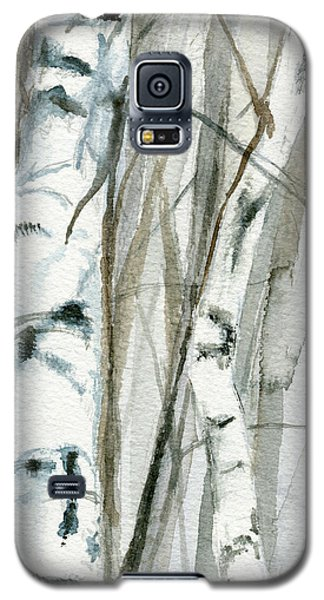 Winter Birch Galaxy S5 Case