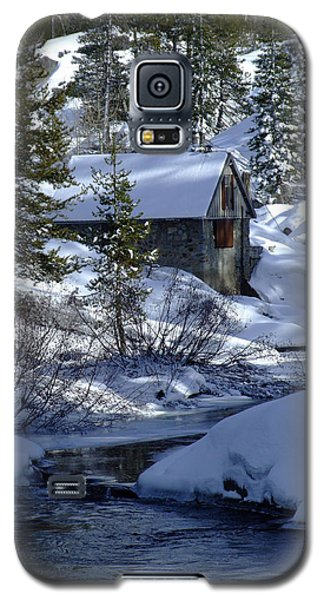 Winter Cottage Galaxy S5 Case by Donna Blackhall