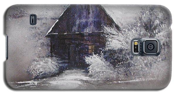 Winter Cottage Galaxy S5 Case