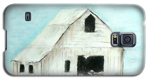 Winter Country Barn Galaxy S5 Case