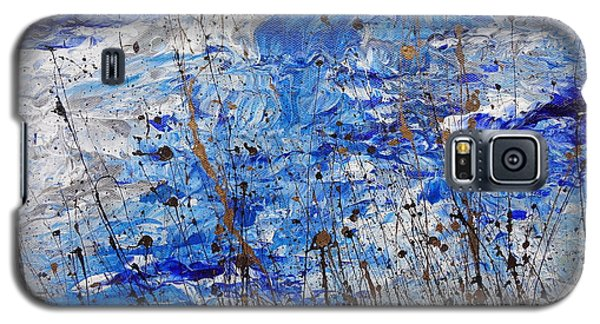 Galaxy S5 Case featuring the painting Winter Crisp by Jacqueline Athmann