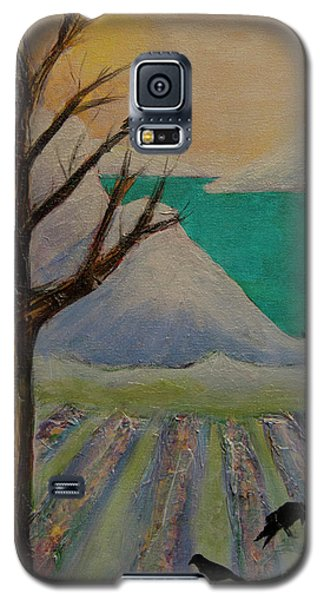 Winter Crows Galaxy S5 Case by Jeanette French
