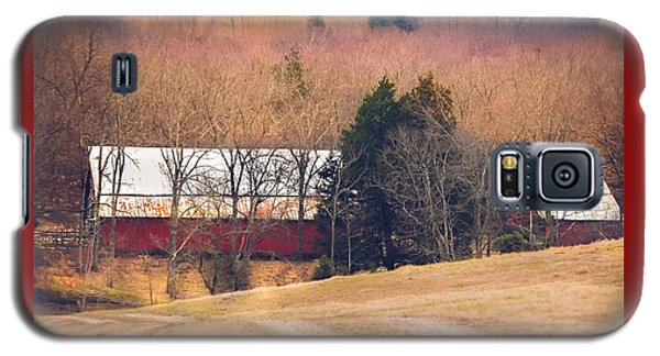 Winter Day On A Tennessee Farm Galaxy S5 Case by Debbie Karnes