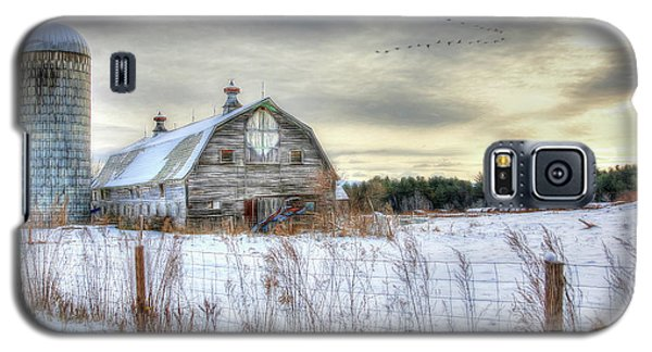 Winter Days In Vermont Galaxy S5 Case