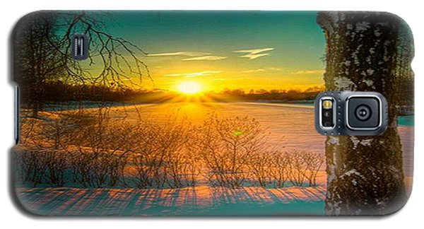 Winter Delight In British Columbia Galaxy S5 Case