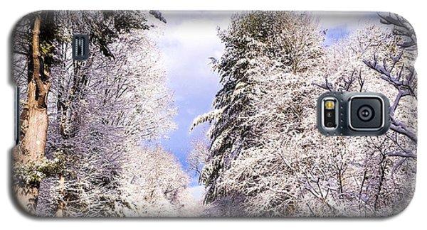 Winter Drive Galaxy S5 Case