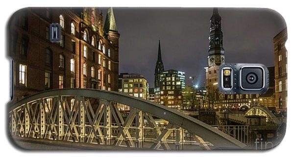 Winter Evening In Hamburg  Galaxy S5 Case