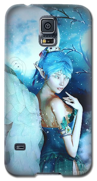 Winter Fairy In The Mist Galaxy S5 Case