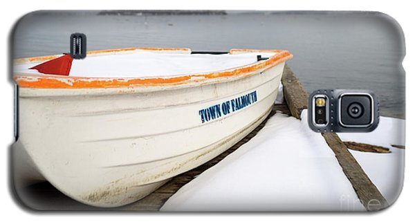 Winter, Falmouth, Maine  -18674 Galaxy S5 Case by John Bald