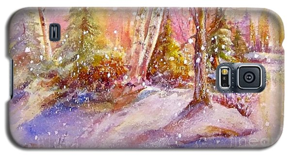 Winter Forest  Galaxy S5 Case by Patricia Schneider Mitchell