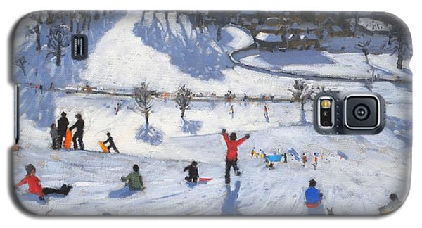 Icy Galaxy S5 Case - Winter Fun by Andrew Macara