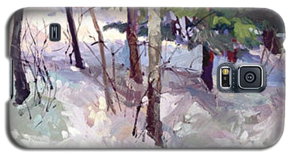 Winter Garden Plein Air Galaxy S5 Case