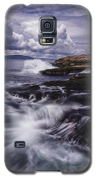 Winter Harbor At Acadia National Park Galaxy S5 Case