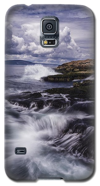 Winter Harbor At Acadia National Park Galaxy S5 Case