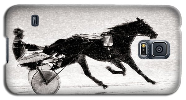 Winter Harness Racing Galaxy S5 Case
