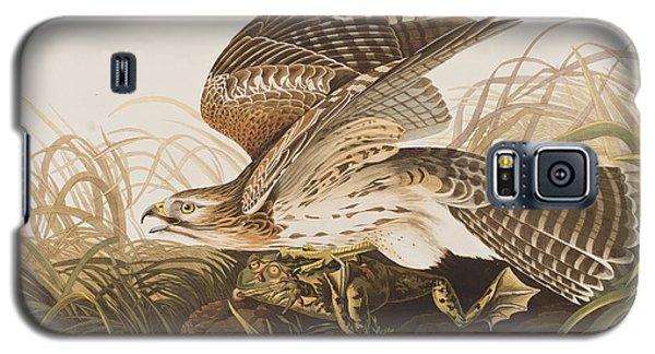 Winter Hawk Galaxy S5 Case by John James Audubon
