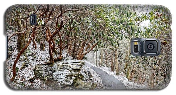 Winter Hiking Trail Galaxy S5 Case