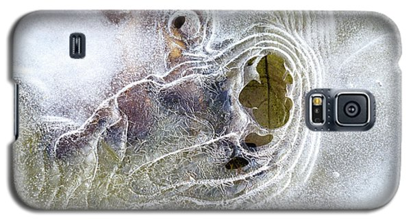 Galaxy S5 Case featuring the photograph Winter Ice by Christina Rollo