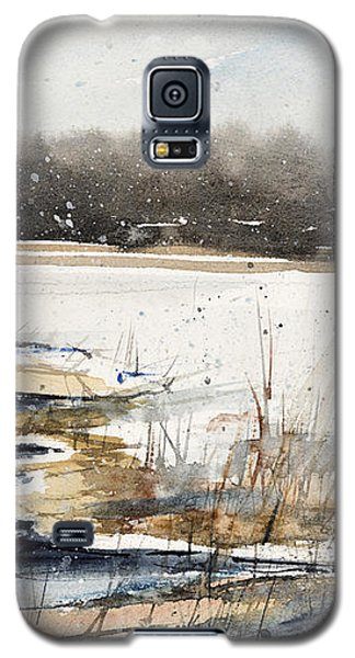 Winter In Caz Galaxy S5 Case by Judith Levins