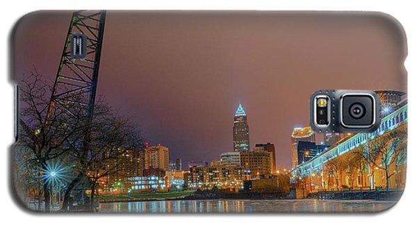 Winter In Cleveland, Ohio  Galaxy S5 Case