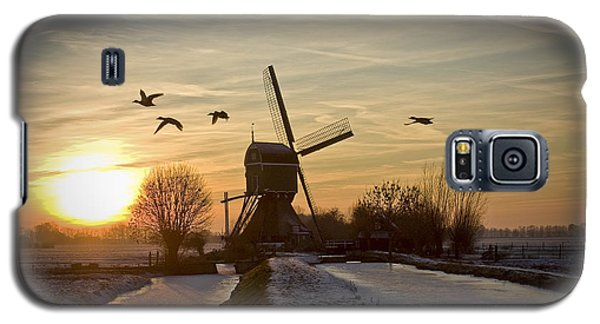 Winter In Holland-2 Galaxy S5 Case