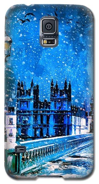 Winter In London  Galaxy S5 Case