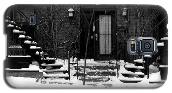 Winter In Montreal Galaxy S5 Case by Robert Knight