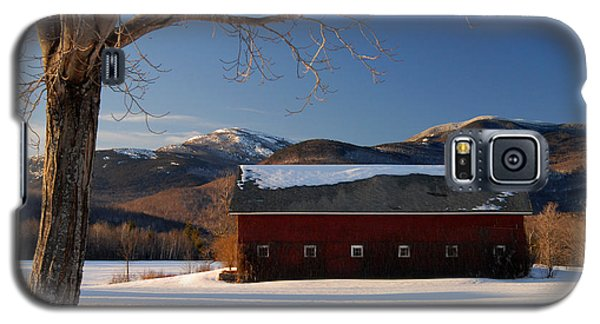 Galaxy S5 Case featuring the photograph Winter In New England by Alana Ranney